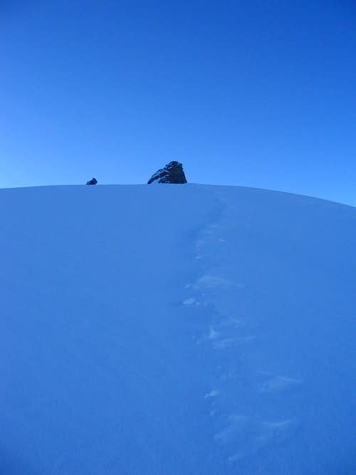 Ascent to Gran Paradiso