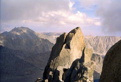 The lower, North Summit of...