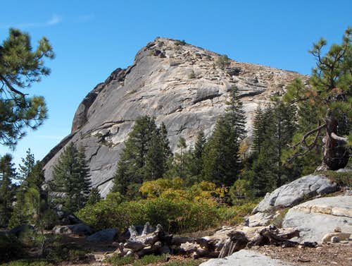 Backside of the dome from tourist trail