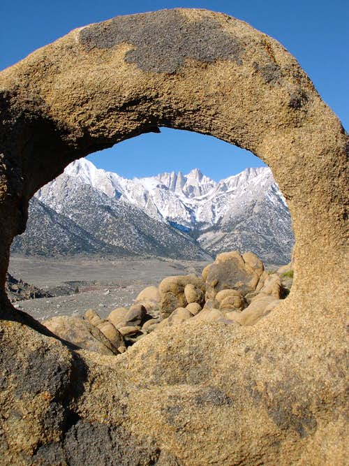 Mount Whitney/Alabama Hills