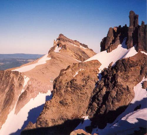 Gilbert Peak as seen from the...