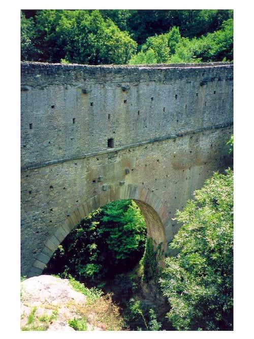 Romans' bridge...