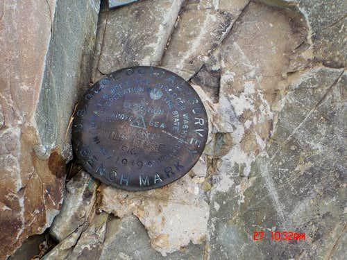 Wildrose summit marker