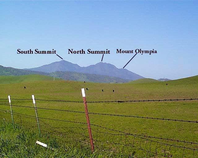 Mount Diablo as viewed from...