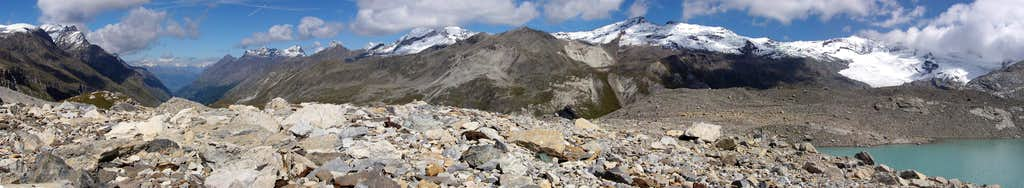 Ridge between Val di Rhêmes  and Valsavarenche