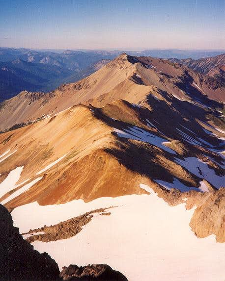 Pictured here is Tieton Peak...