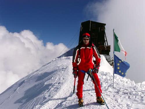 Capanna Margherita/Monte Rosa/Italia-CH(09/2005)