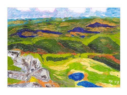 My small mountains - Rudawy Janowickie