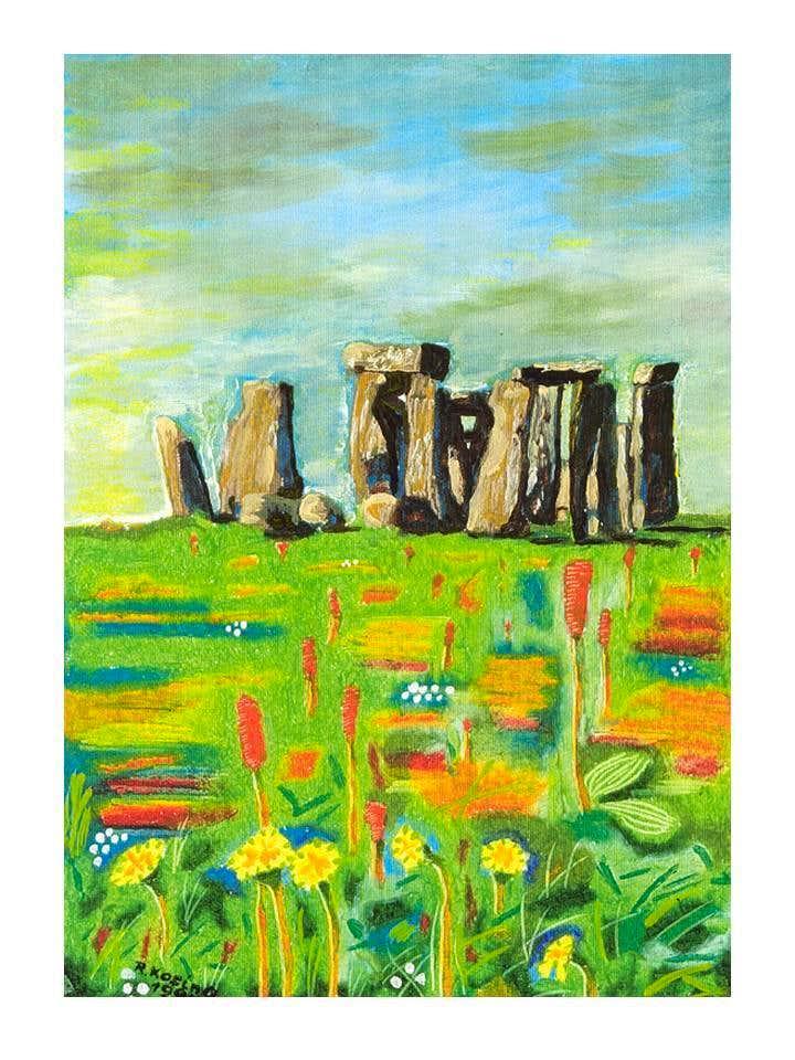 Rocky megaliths...