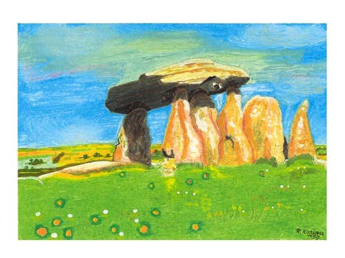 Dolmens in mountains & other prehistoric monuments
