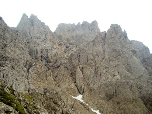 North side of Pala della Madonna
