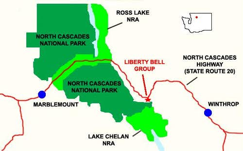 Liberty Bell Group Location Map