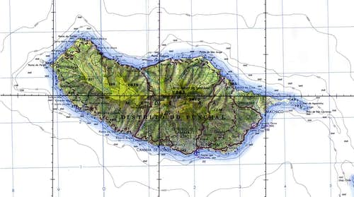 Overview Map Madeira