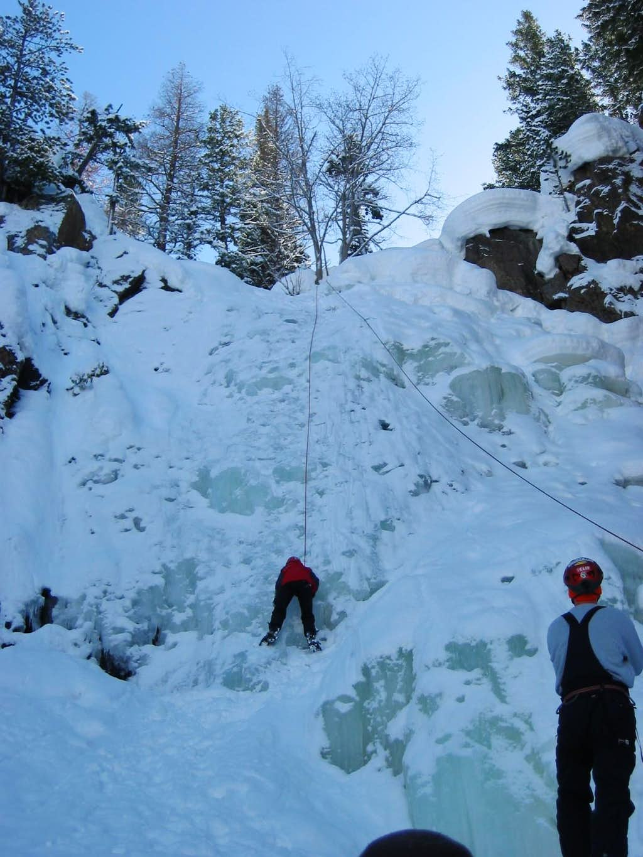 Fish Creek Falls Climb