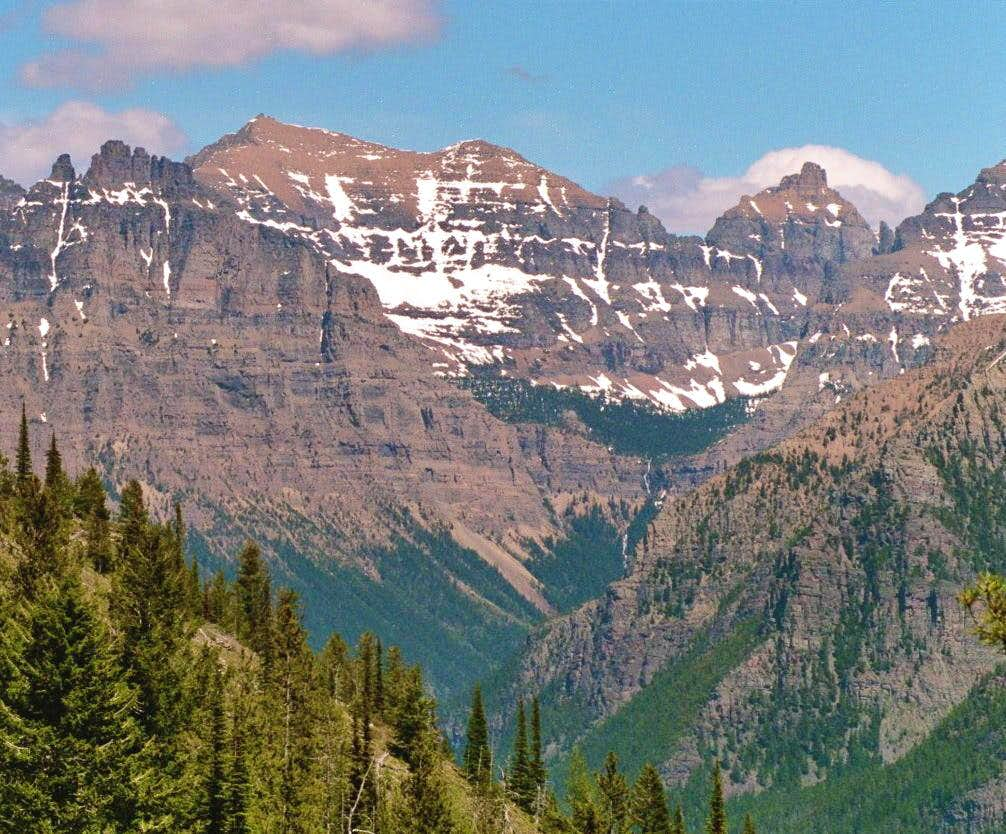 Northwest corner of GNP