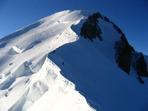 Ascent to Monte Bianco.7/2005