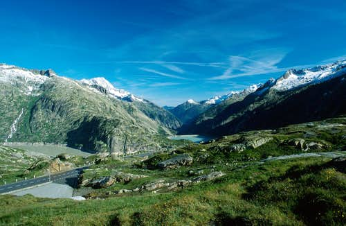 High Aar valley from Grimsel