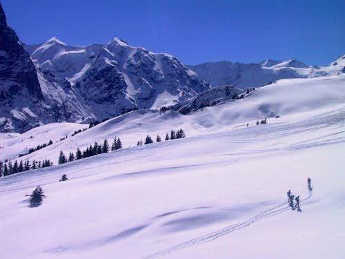 Wildgerst. Instead of skis,...