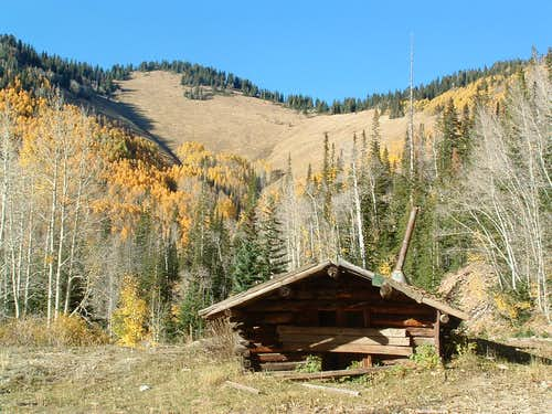Old cabin in Miner\'s Basin