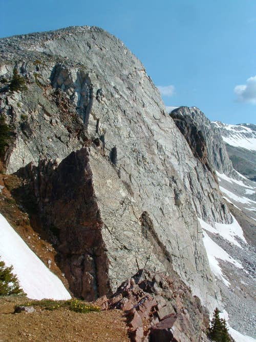 Medicine Bow\'s cliffs