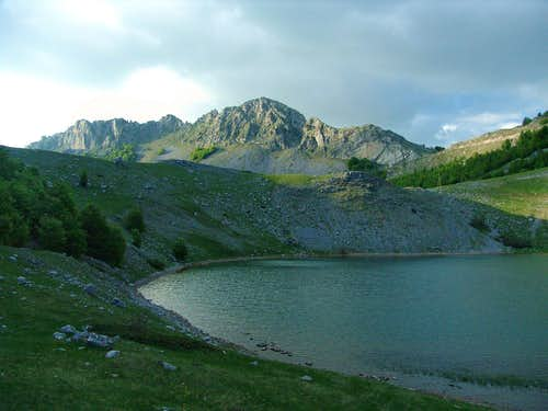 Debeza from Bukumir lake
