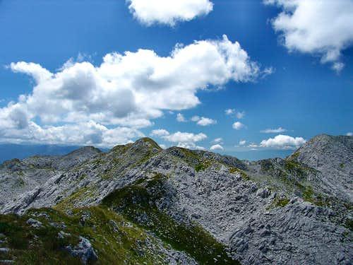 Kanjavi vrh from NW