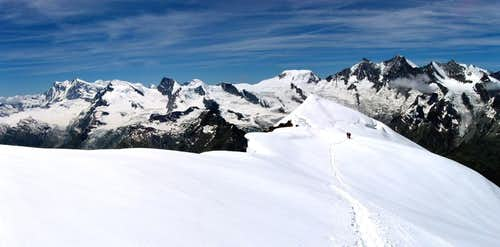 Monte Rosa & Michabel  from Weissmies(CH)(06/2005)