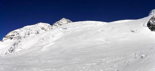 Monte Rosa - Ghiacciaio del Lys & Liskamm(Italia)(04-2004)