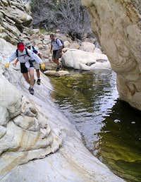 Hikers in Oak Creek