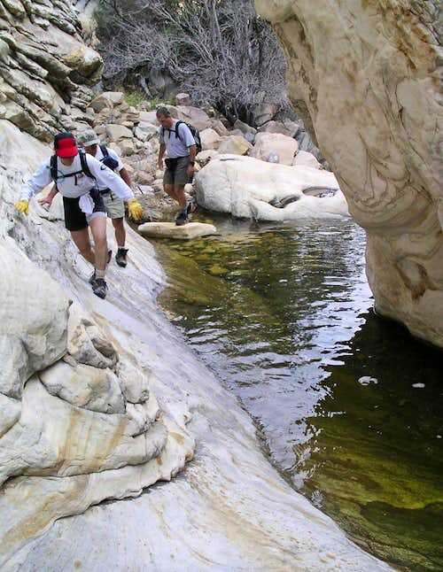 Hikers in Oak Creek