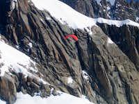Paragliding in Mont Blanc range