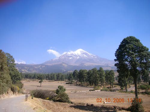 View of Orizaba from NW