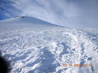 View of Steep Glacier