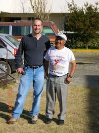 At Hotel Gerar with Senor Gerardo