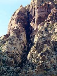 White Rock Pinnacle Gully