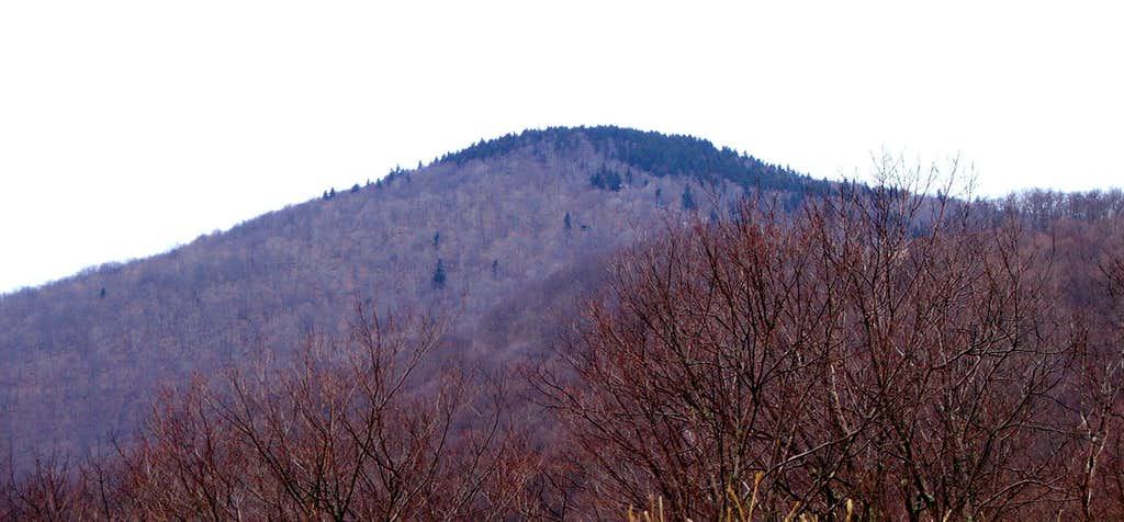 Red Spruce Knob from the Southeast