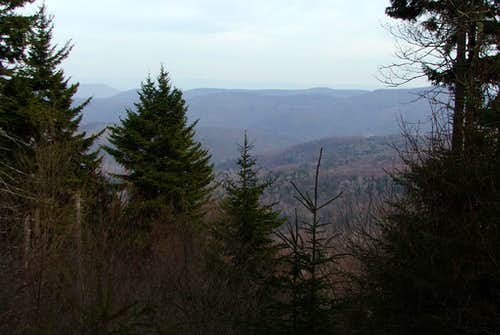 View from Red Spruce Knob