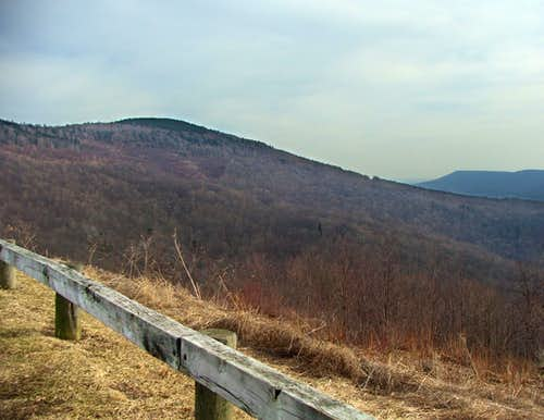 Red Spruce Knob from the Northwest