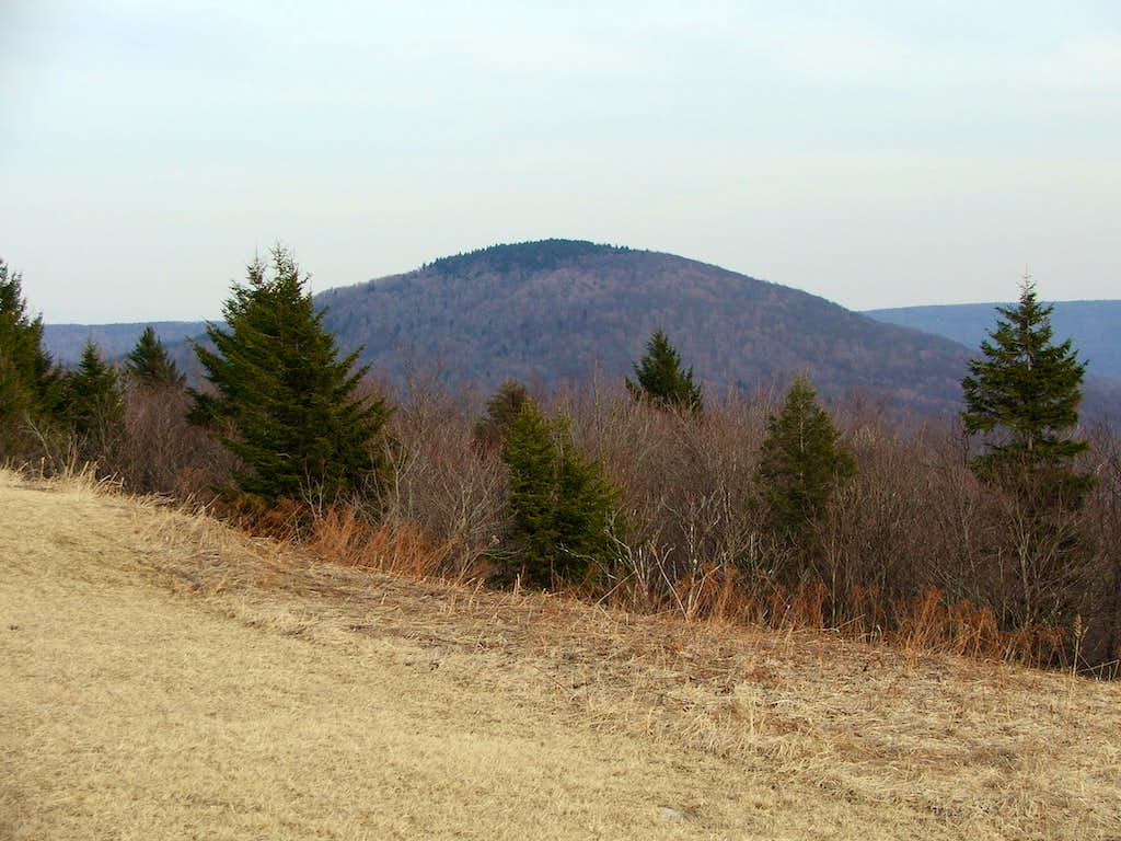 Red Spruce Knob from the Southwest