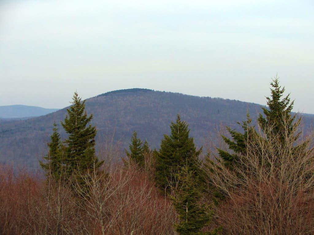 Red Spruce Knob from the South