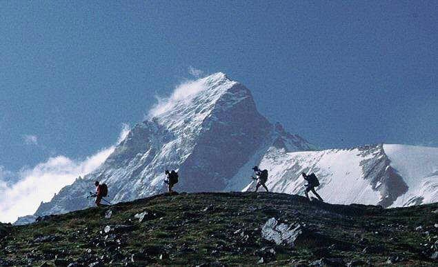 Passing the Matterhorn north face
