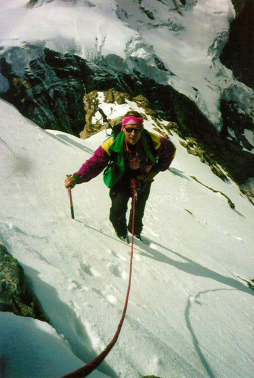 On the South-West Ridge of the Mönch