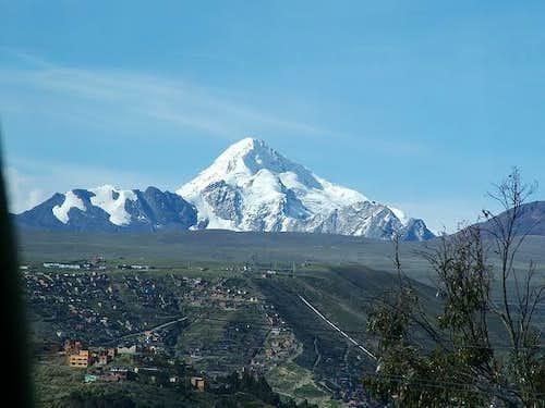 Hauyna Potosi From El Alto