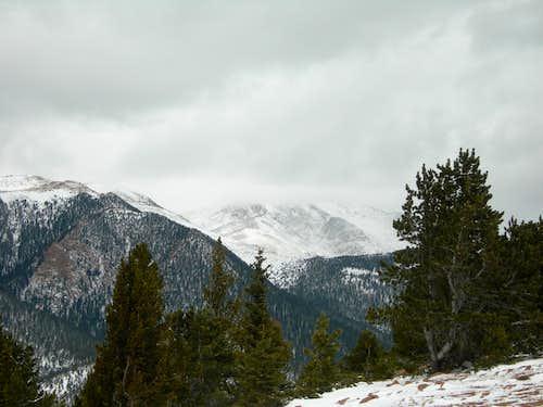 Pikes Peak playing hooky