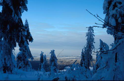 Schneeberg in wintertime