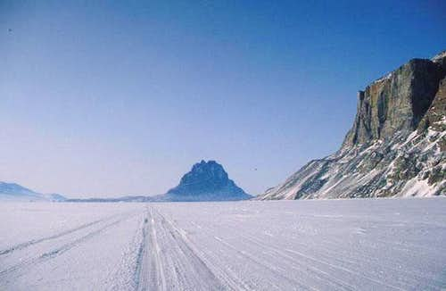 View of Uummannaq island from East