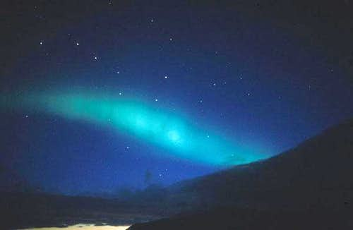 Aurea borealis (northern light)