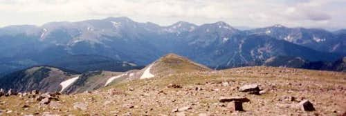 Wheeler Peak massif from the...