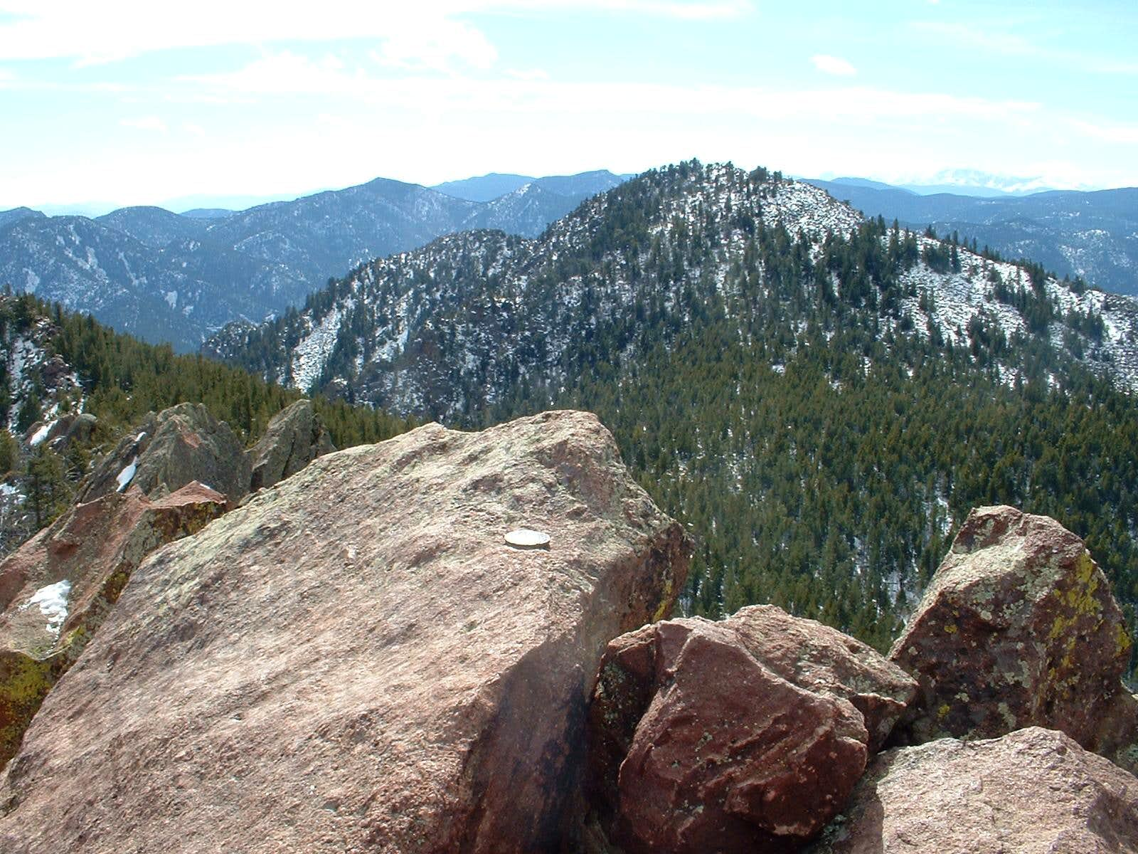 South Boulder Peak and Bear Peak