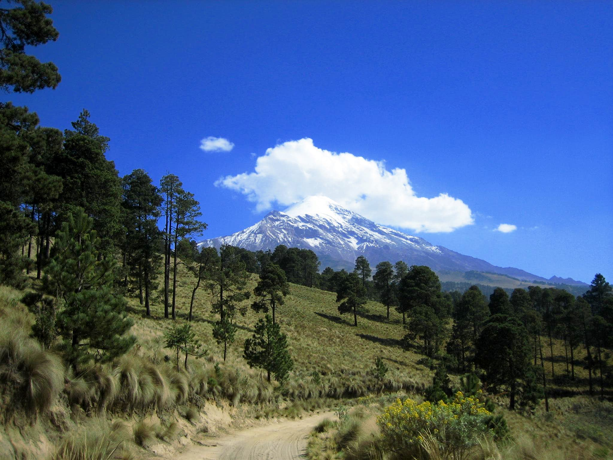 Orizaba and Iztaccihuatl Solo